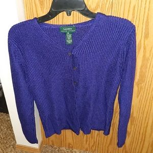 Lauren Ralph Lauren button down sweater